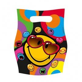 Sünnipäevad kotid SMILEY  8 tk