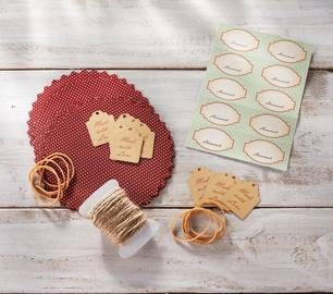 Leifheit Deko-Set Jar Labels Set Of 10pcs