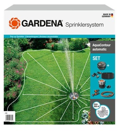 Gardena Large-Area Pop-Up Irrigation AquaContour Automatic Set