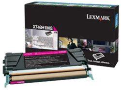 Lazerinio spausdintuvo kasetė Lexmark X748H3MG MAGENTA