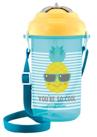Canpol Babies Sport Cup So Cool With Silicone Straw 400ml Yellow