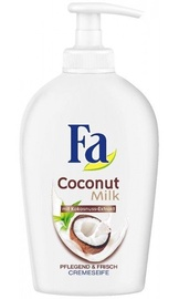 Šķidrās ziepes Fa Coconut Milk, 250 ml