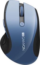 Kompiuterio pelė Canyon CNS-CMSW01BL Blue, bevielė, optinė