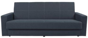 Black Red White Sofa Bed Nova Dark Grey