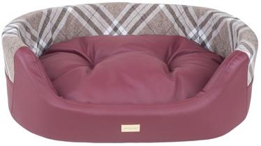 Amiplay Kent Dog Ellipse Bedding 2in1 S 54x45x16cm Burgundy