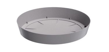 Prosperplast Plastic Saucer Lofly PPLF230 Ø23cm Grey