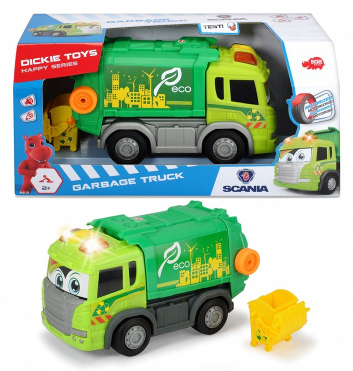 Dickie Toys Happy Scania Garbage Truck 203816001