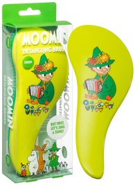 Moomin Detangling Brush Green Snufkin