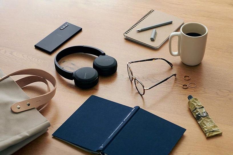 Belaidės ausinės Sony WH-CH510, juodos