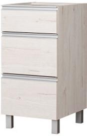Bodzio Monia Lower Drawer Cabinet 40 Pearl Soma Oak