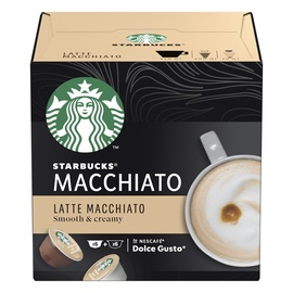Kafijas kapsulas Starbucks Latte Macchiato Dolce Gusto, 12 gab