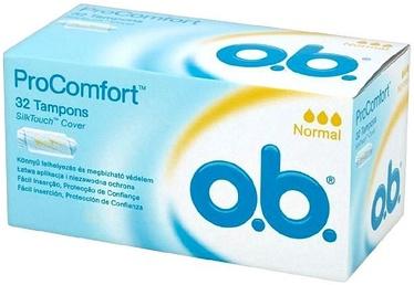 o.b. Pro Comfort Normal Tampons 32pcs