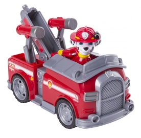 Spin Master Vehicle With Figure Paw Patrol Marshall Transforming Fire Engine