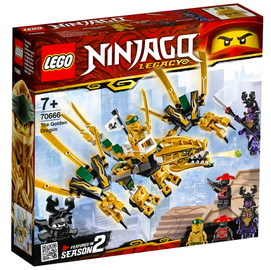 Konstruktorius Lego Ninjago The Golden Dragon 70666