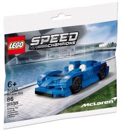 Konstruktor LEGO Speed Champions McLaren Elva 30343, 86 tk