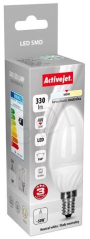 ActiveJet Bulb LED 4W 330lm E14