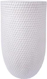 Home4you Flower Pot Cubo-1 D47xH75cm White