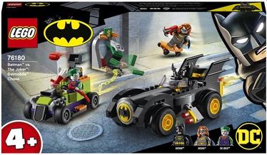 Конструктор LEGO DC Бэтмен против Джокера: погоня на Бэтмобиле 76180, 136 шт.