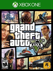 Žaidimas Grand Theft Auto V Xbox One