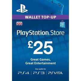 Sony PSN Card 25 GBP UK PSN IDs Only