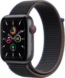 Išmanusis laikrodis Apple Watch SE GPS LTE + Cellular, 44mm Aluminum Charcoal Sport Loop, juoda