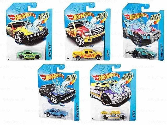 Mattel Hot Wheels Color Shifters BHR15