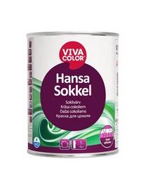 Fasadų dažai Vivacolor Hansa sokkel, C bazė, matiniai, 0,9 l