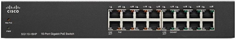 Cisco SG110-16HP-EU 16 Port Switch