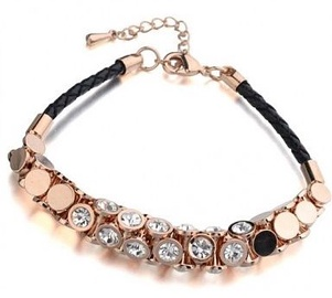 Vincento Bracelet With Swarovski Elements CB-1077