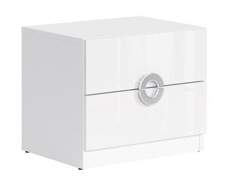 Black Red White Ringo Night Stand White