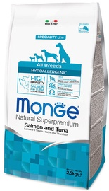 Monge Speciality Line Hypoallergenic Salmon and Tuna 2.5kg
