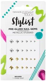 Elegant Touch Metallic Studded Pre - Glued Gems