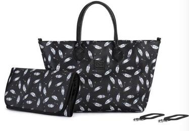 Сумка KinderKraft Shopper Bag Mommy Black