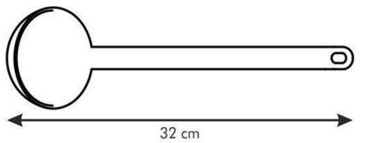 Tescoma Space Line Ladle 32cm