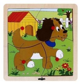 Puzle Woody Dog Educational 93017, 4 gab.