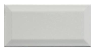 Keraminės sienų plytelės Metro White, 20 x 10 cm
