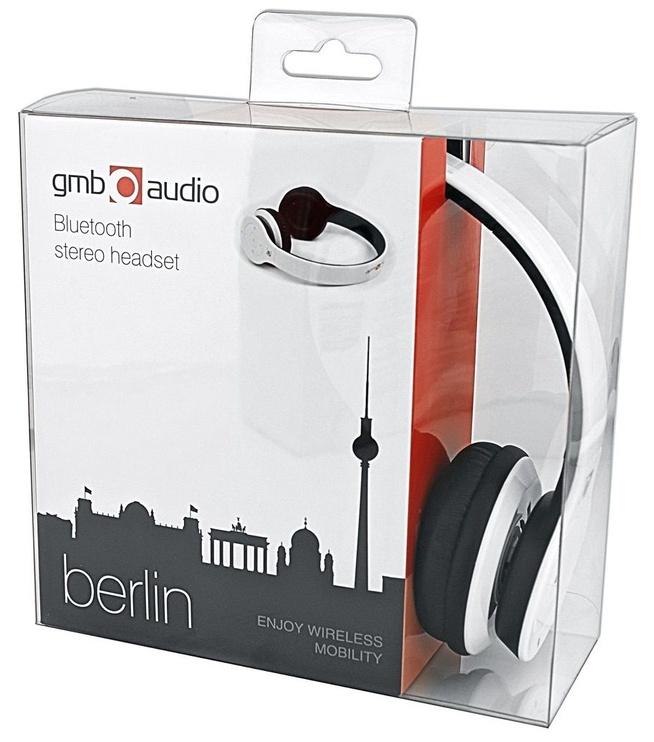 Belaidės ausinės Gembird Berlin White