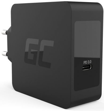 Зарядное устройство Green Cell USB-C Charger PD 60W w/Cable