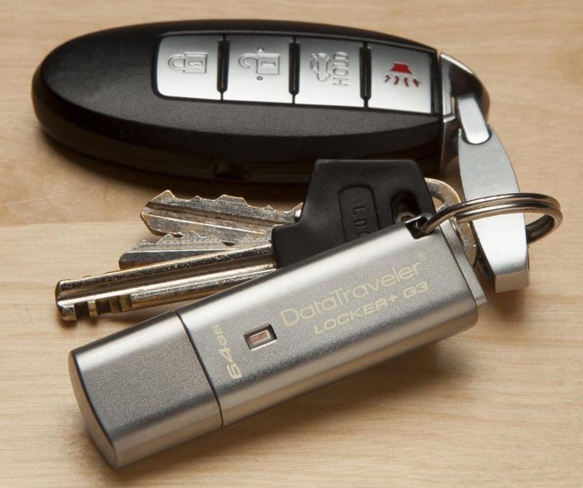Kingston 64GB DataTraveler Locker+ G3