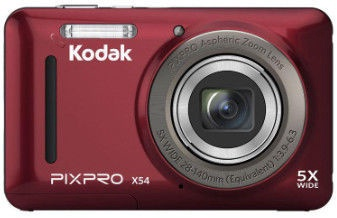 Kodak PixPro X53 Digital Camera Red