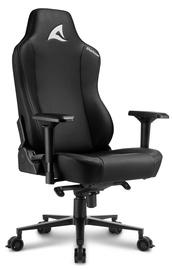 Spēļu krēsls Sharkoon Skiller SGS40, melna