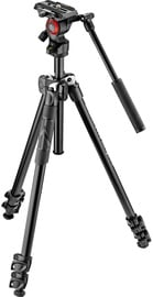 Alus Manfrotto 290 Light Tripod With Befree Live Fluid Video Head