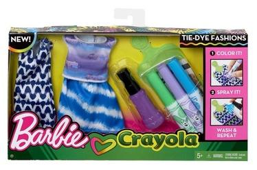 Mattel Barbie Crayola Tie-Dye Fashions FPW14