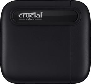 Cietais disks (SSD) Crucial X6 USB-C, SSD, 500 GB