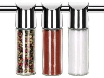 Prieskonių indelių laikiklis Tescoma Monti Spice Jars 3 Pieces