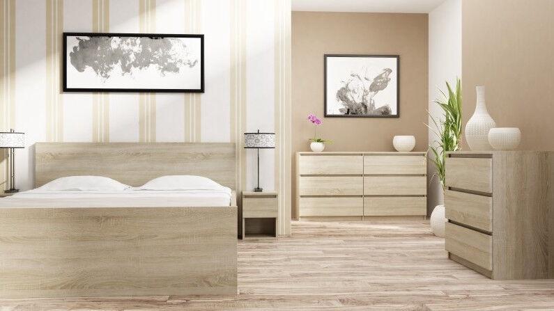 Kumode Top E Shop Malwa M4 Sonoma, 70x40x97 cm