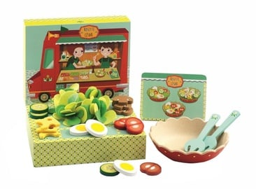 Djeco Sweets Rosette And Cezar Salad Bar Set
