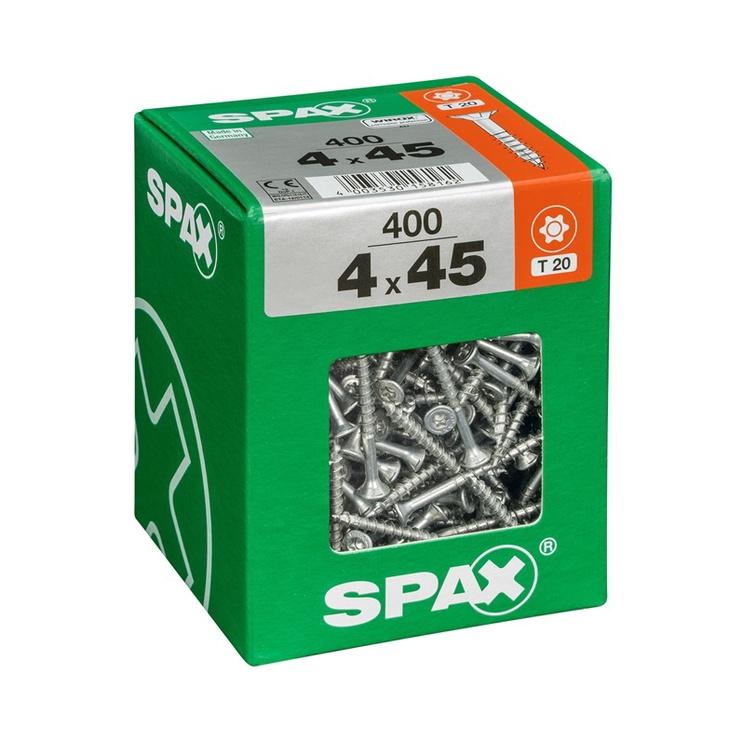 PUIDUKRUVI SPAX TX 4X45 400 TK