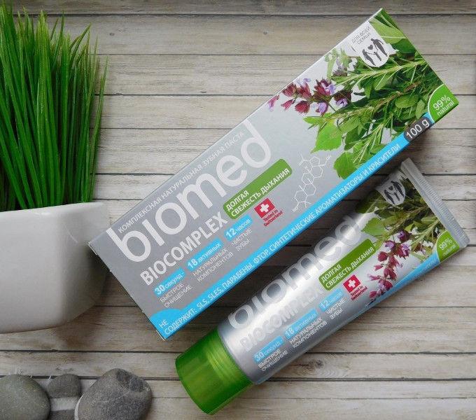 Dantų pasta Biomed Biocomplex 100g