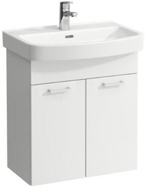 Laufen Kompas Cabinet with Basin 560x683x420mm White